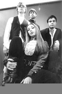 WALTER  NOVAK - Faces of Jaded Era: Jeff Andrea, Eric Ortopan, Marco - Hilj, and Kira Leyden (clockwise from left).