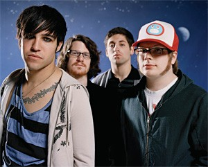 Fall Out Boy: Likes concert DVDs, guyliner.
