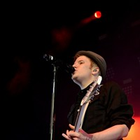 Fall Out Boy Performing at the Wolstein Center