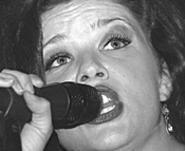 Family affair: Mary Bridget Davies is married to her - bassist, Adam Constantine. - WALTER  NOVAK