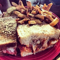 Cleveland Eats (and Drinks): 25 Things You Consumed this Week Farewell lunch from JumpStart! #melt #cleveland @katyanne34 @tiffanc Photo Courtesy of Instagram User sunnyc216