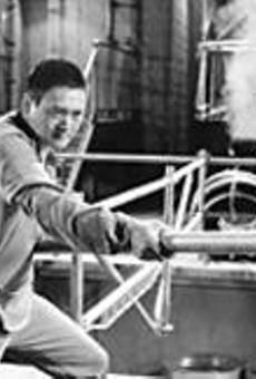 Fat chance: Hong Kong's Cary Grant/John Wayne      finally gets to show his stuff -- kind of.
