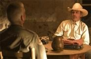 For a good guy, Pete Perkins (Tommy Lee Jones) is one scary hombre.