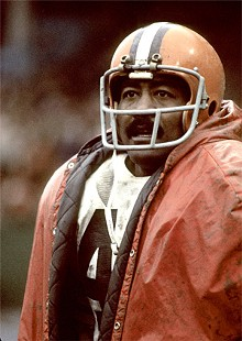 GETTY IMAGES - Former Browns running back Leroy Kelly.