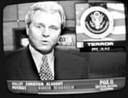 Fox 8: The only local station with reporters live in - Baghdad.