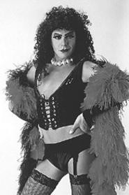 Frank N. Furter: Like a well-endowed nun, or something like that.
