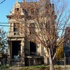 """<a href=""""http://www.forgottenoh.com/Franklin/franklin.html"""">Franklin Castle</a> is one of Ohio's most notorious and most haunted places. Built by German immigrant Hannes Tiedemann in 1865, the castle has all the makings of the home of unruly spirits. There were allegedly numerous deaths that occurred under mysterious circumstances, including those of Tiedemann's wife, mother and children. Babies can be heard crying through the walls, and victims of foul play have been sighted throughout the house. These include Karen, who is said to have been murdered with an axe and usually occupies the """"cold room"""" on the third floor. The room is ten degrees colder than the rest of the house at all times. <a href=""""http://deadohio.com/franklincastle/"""">Franklin Castle</a> is private property, but it's still spooky from the outside."""