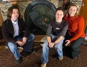 From left: GM Chris Hammer, chef Jill Vedaa, and event coordinator Megan DeVito Fowler. - WALTER NOVAK