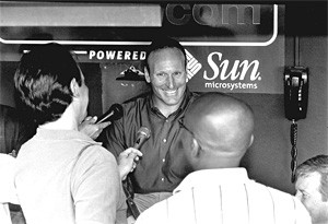 General manager Mark Shapiro: The brain that resurrected the Indians. - WALTER NOVAK