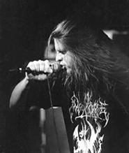 "George ""Corpsegrinder"" Fisher at Cannibal Corpse's - November 17 Agora show. - WALTER  NOVAK"