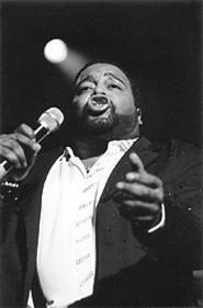 Gerald Levert, doing his thing at the Palace Theatre - December 14. - WALTER  NOVAK