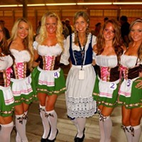 Oktoberfest — Aug. 29 to Sept. 1 Get ready to don the beer goggles this Labor Day weekend. At Cleveland's 10th annual Okotoberfest, beer snobs can sample authentic Bavarian brews while enjoying live polka music and other quintessential Oktoberfest offerings, such as German and Polish cuisine. Check out the lovely ladies participating in this year's Miss Oktoberfest competition, as well. Photo Courtesy of Facebook