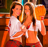 Girls in kilts. Two blocks from Progressive Field. Killer grilled wings. Need we say more?