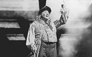 Giving the finger to audiences everywhere: J.P. Dougherty as Thenardier in Les Miserables.