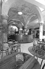 Good Eton: Lunch at Isola Bella might feel like a midday vacation. - WALTER  NOVAK