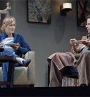 Grief distances Becca (Angela Reed) and Howie (Danton Stone).