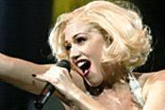 Gwen Stefani, vamping it up at Wolstein Center. - WALTER  NOVAK