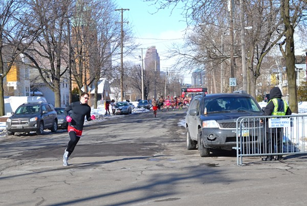 Half-Naked Running For Charity: Pictures From Saturday's Cupid's Undie Run In Tremont
