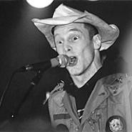 Hank III, punching up the country at the Grog Shop, - February 11. - WALTER  NOVAK