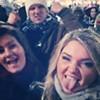 Happy New Year! #2014 #Cleveland #Krewella #downtown #concert #ohiohomecoming #balldrop #ukrainians #partyhard #sober #somuchfun #lovethem