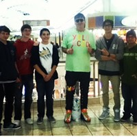 16 Swagalicious Shirts of Mall Guy He has no qualms with group photos. Photo Courtesy of Danielle Honsaker via Instagram