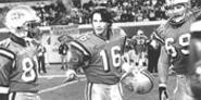 He is The One: Keanu Reeves plays a cynical, reluctant quarterback who leads his scab football team into battle.