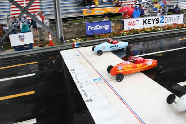 Here's What You Missed at the All American Soap Box Derby Yesterday