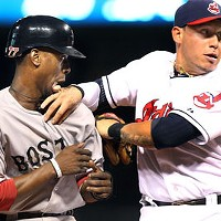 """11 Indians' Double Plays That Don't Look Like Double Plays """"He's eating me!"""""""