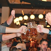 Hofbrauhaus Cleveland is More Than Foot-Stomping, Chair-Dancing Drinking (But It's Definitely About That Too)