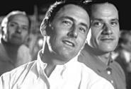 Hometown buddies Arye Gross (left) and unrequited crush Tim DeKay.