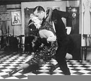 Hot in herre: Tango Buenos Aires dancers cut the - linoleum at the Palace (Friday).
