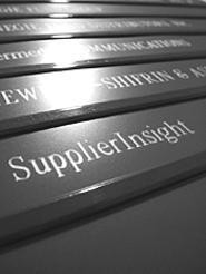 How much taxpayer money did SupplierInsight get? - The company doesn't know, and neither does the - state. - WALTER  NOVAK