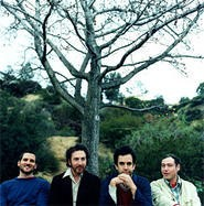 """""""I would like to just make an album that just sort of rocks,"""" says Miller (second from left)."""