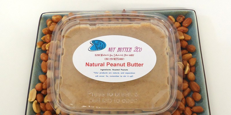 16 Peanut Butter Lover Dishes You Can Find in Cleveland If you're looking to fancy up your peanut butter, That's Nuts! in Lakewood is worth a visit. With all natural nut butters from locally sourced nuts, That's Nuts! offers gourmet nut butters with ingredients like candied ginger, cranberries, and chocolate. Try the Natural Roasted Peanut Butter, Honey Roasted Peanut Butter or, if you're feeling adventurous, the Chocolate Almond Coconut Butter. PHOTO VIA THATSNUTS.NET