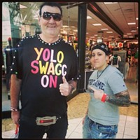 16 Swagalicious Shirts of Mall Guy In fact, he's got swag to spare. Photo Courtesy of Danielle Honsaker via Instagram