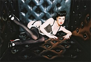 Indie Sex's Dita Von Teese slips into something a little more comfortable.
