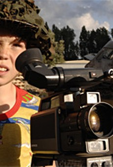 Inspired by Stallone, kids discover joys of DIY filmmaking in Son of Rambow.