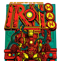 30 Incredible Movie Poster Recreations From Your Favorite Hollywood Hits Iron Man by Jesse Philips Photo Courtesy of Matthew Chojnacki