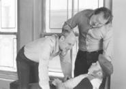 It's a guy thing: Joel Hammer, Joe Kerata, and Daniel - McElhaney in David Mamet's American - Buffalo.