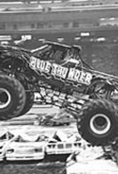 It's pedal to the metal at the U.S. Hot Rod Monster Jam.