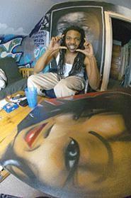 Iyan Anomolie: Cleveland's Kanye West. - WALTER  NOVAK
