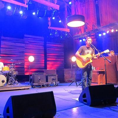 Jack Johnson Performing at Blossom Music Center