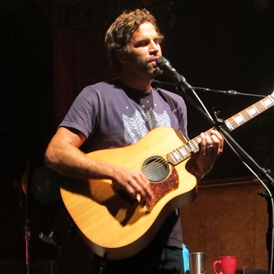 Jack Johnson Performing at Blossom Music Center
