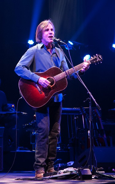 Jackson Browne performing in Akron last year. - MARK MINDLIN