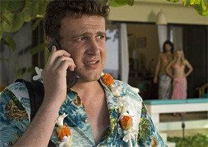 Jason Segel learns the naked truth about breakups in Forgetting Sarah Marshall.