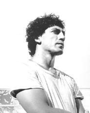 Javier Bardem as Cuban poet Reinaldo Arenas.