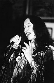 Jazz sorceress Flora Purim dazzled listeners Sunday - evening at Night Town. - AMY  WEISER
