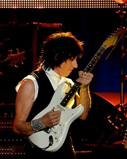 Jeff Beck performing in 2013. - JOE KLEON