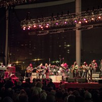 JJ Grey & Mofro and the Tedeschi Trucks Band playing at Jacobs Pavilion at Nautica