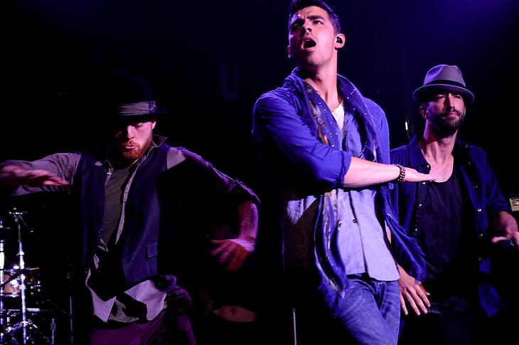 Joe Jonas at the House of Blues